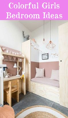 Rustic Southwest Decor How to Decorate Kids Room with Pink: 6 Ideas to Try.Rustic Southwest Decor How to Decorate Kids Room with Pink: 6 Ideas to Try Girl Room, Girls Bedroom, Bedroom Decor, Bedroom Ideas, Room Boys, Deco Kids, Dressing Room Design, Kid Spaces, Home Decor