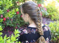 55 Cute Braids Design Ideas That Popular In 2019 Cute Girls Hairstyles, Everyday Hairstyles, Summer Hairstyles, Trendy Hairstyles, Swimming Hairstyles, Beautiful Long Hair, Gorgeous Hair, Medium Hair Styles, Short Hair Styles