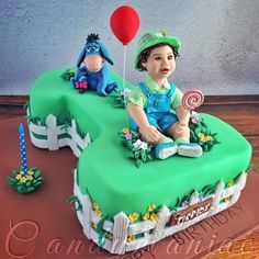 Little farmer - Cake by Mania M. - CandymaniaC