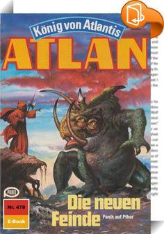 """Atlan 478: Die neuen Feinde (Heftroman)    :  In das Geschehen in der Schwarzen Galaxis ist Bewegung gekommen - und schwerwiegende Dinge vollziehen sich. Da ist vor allem Duuhl Larx, der verrückte Neffe, der für gebührende Aufregung sorgt. Mit Koratzo und Copasallior, den beiden Magiern von Oth, die er in seine Gewalt bekommen hat, rast er mit dem Organschiff HERGIEN durch die Schwarze Galaxis, immer auf der Suche nach weiteren """"Kollegen"""", die er ihrer Lebensenergie berauben kann. Der ..."""