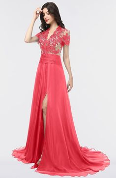 c6af64e840 ColsBM Eliza - Coral Bridesmaid Dresses. Pink Bridesmaid Dresses ShortProm  ...