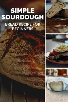 The world's easiest sourdough bread for beginners! This is the first sourdough bread I made, and it turned out awesome, you can do the same! Beginners Bread Recipe, Sourdough Bread, Fermented Foods, Bread Recipes, Super Easy, Healthy Lifestyle, Easy Meals, Paleo, Low Carb