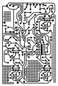 Steampunk Vintage Circuit Board Clear Stamp by tonjastreasures Design Elements, Design Art, Chakras, Circuit Board Design, Star Wars Episode Iv, Cartography, Clear Stamps, Abstract Pattern, Textures Patterns