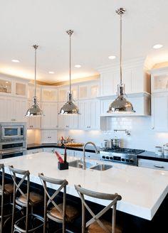 9 Easy Kitchen Lighting Upgrades - http://freshome.com/Kitchen-Lighting-Upgrades