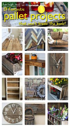 Awesome pallet projects you won't want to miss!