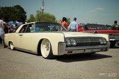 ".:run4fun:.: ::Lincoln Continental & 20"" Steelies::"