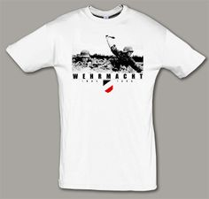 Camiseta Werhmacht foto. IMPRESION TEXTIL.