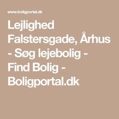 Lejlighed Falstersgade, Århus - Søg lejebolig - Find Bolig - Boligportal.dk