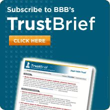 Sign up here to get a free subscription to Trustbrief, provided to you by BBB.  https://www.smartbrief.com/bbb/index.jsp