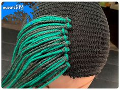 Inexpensive Halloween Costumes, Diy Costumes, Crochet Hooks, Knit Crochet, Witch Hair, Yarn Wig, Mardi Gras Outfits, Wig Hat, Sewing Elastic