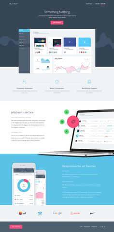 Landing Page for a client
