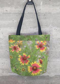 VIDA Tote Bag - Denim Bouquet by VIDA UhEq7s4