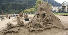 The Sand Castles of Oregon Puts Oregon on the Map #sandcastle #beach trendhunter.com