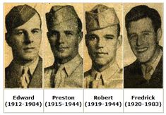 "The Niland brothers were four American brothers from Tonawanda, New York, serving in the military during World War II. Of the four, two survived the war, but for a time it was believed that only one, Frederick ""Fritz"" Niland, had survived. After the reported deaths of his three brothers, Fritz was sent back to the United States to complete his service and only later learned that his brother Edward, missing and presumed dead, was actually captive in a Japanese POW camp in Burma."