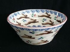 Leaping Hare Bowl : Bell Pottery