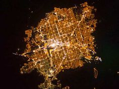 9 Incredible Pictures of City Lights From Space Led Lighting Solutions, Overhead Lighting, Canopy Lights, Led Ceiling Lights, Las Vegas, Find A Room, Hotel Safe, Light And Space, Lamp Design