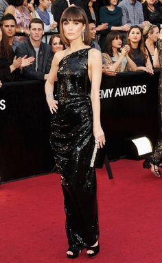 Rose Byrne de Vivienne Westwood. Oscars 2012
