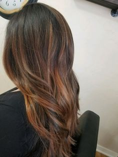 Perfect fall hair