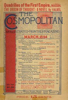 March 1894 Cosmopolitan Magazine