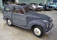 1952 Fiat Topolino 500c Belvedere