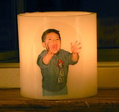 How to Add a Photo to Your Candles
