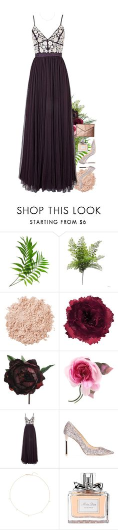 """""""Untitled #330"""" by sofia-collins8 ❤ liked on Polyvore featuring La Mer, Accessorize, Abigail Ahern, Gucci, Needle & Thread, Jimmy Choo, ZoÃ« Chicco, Christian Dior and Rebecca Minkoff"""