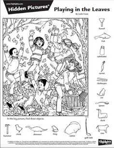 The favorite part of Highlights magazine for many kids—and even parents—is the hidden picture puzzles. With dozens available online for free, . Hidden Picture Games, Hidden Picture Puzzles, Hidden Object Puzzles, Hidden Objects, Colouring Pages, Coloring Books, Ivan Cruz, Highlights Hidden Pictures, Hidden Pictures Printables