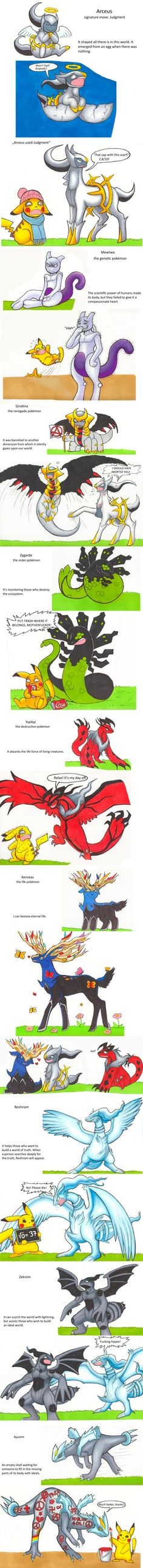 Pkm: Legendary Fools by Cadaska.deviantart.com on @DeviantArt