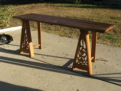 Nobleman's trestle table.