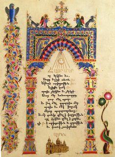 Armenian miniatures Armenian Culture, Letter Writing, Illuminated Manuscript, Ikon, Style Icons, Miniatures, Letters, Calligraphy, Logos