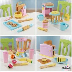 KidKraft Play Kitchen Accessories 4-Pack
