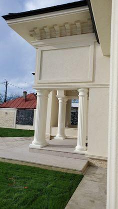 Proiect Casa Rezidentiala Bacau 2 – Profile Decorative Exterior, Interior Design, Outdoor Decor, Modern, House, Home Decor, Houses, Prague, Nest Design