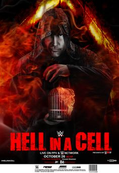 Hell in a cell poster with Dean on it. This is awesome! Roman Reigns Dean Ambrose, Wwe Dean Ambrose, Wwe Ppv, Abandoned Castles, Abandoned Mansions, Abandoned Places, St Louis Baseball, Wrestling Stars, Abandoned Amusement Parks