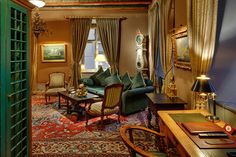 victory hotel sweden stockholm     antique interior with Mahogany chairs and the design with an eye for details