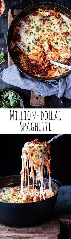Million-Dollar Spaghetti | http://halfbakedharvest.com @hbharvest