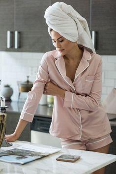 Lounge Outfit, Lounge Wear, Pyjamas, Silk Pajamas, Pajamas All Day, Cute Pajamas, Jolie Lingerie, Women Lingerie, Pijamas Women