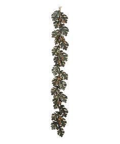 Look at this #zulilyfind! Oak & Acorn Garland #zulilyfinds