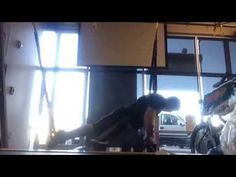 Nick Butler, Epic, TRX instrutor and trainer at Epic Ryde demonstrates an advance full body row. Exercises, Workouts, Trx, Strength Training, Pilates, Pop Pilates, Exercise Routines, Excercise, Work Outs