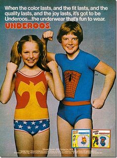 Underoos. No one admitted it- but we all loved them.