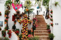 Cruces de Mayo (Frigiliana, Málaga), by @spainviaggio