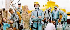 The Life Aquatic with Steve Zissou (2004) dir. Wes Anderson
