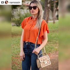 #Repost @namossin with @repostapp ・・・ E para fechar a noite esse Look todo charmoso! ✨🌟 @colcciiguatemisorocaba #deumcliquenoseulook #ootd #lookdodia #moda #lookoftheday #namossin