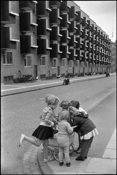 Copenhagen, Denmark, 1953 | photo by Henri Cartier-Bresson
