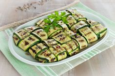 fagottini di zucchine ricetta