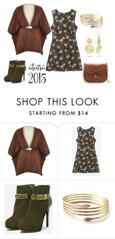 """otoño 2015"" by aliciagorostiza on Polyvore featuring moda, River Island, Zara, Bandolera y CHARLES & KEITH"