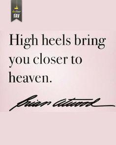 :who needs high heels when i'm already over 6 feet tall? :)