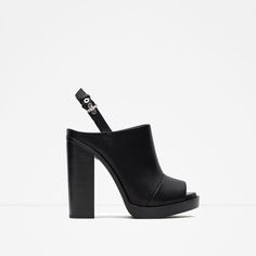 Image 1 of HIGH HEEL SLINGBACK SHOES from Zara