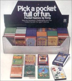 Pocketeers overdose - a whopping great box of nostalgia.  You can stick your Playstation