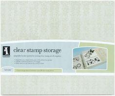 "14.5""X12""X2.3125"" Inkadinkado Stamp Storage Binder I98622 - Stamps"