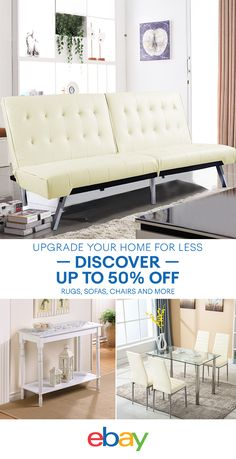 Start the season off right with eBay's spring sale offering you great deals on spring must-haves. Save on sofas, rugs, accent chairs and more when you shop eBay today.